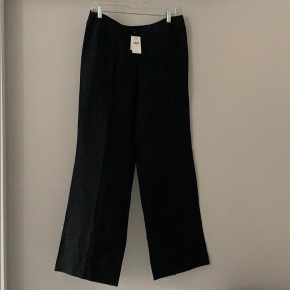J. Jill Pants - J. Jill 100% Linen Trousers. Black.